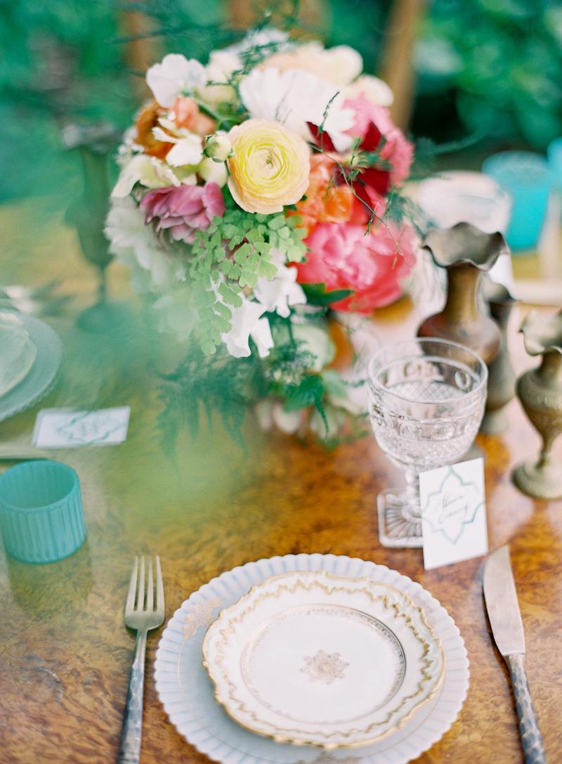 Vintage, Centerpiece, Table, Setting, Aude gilles