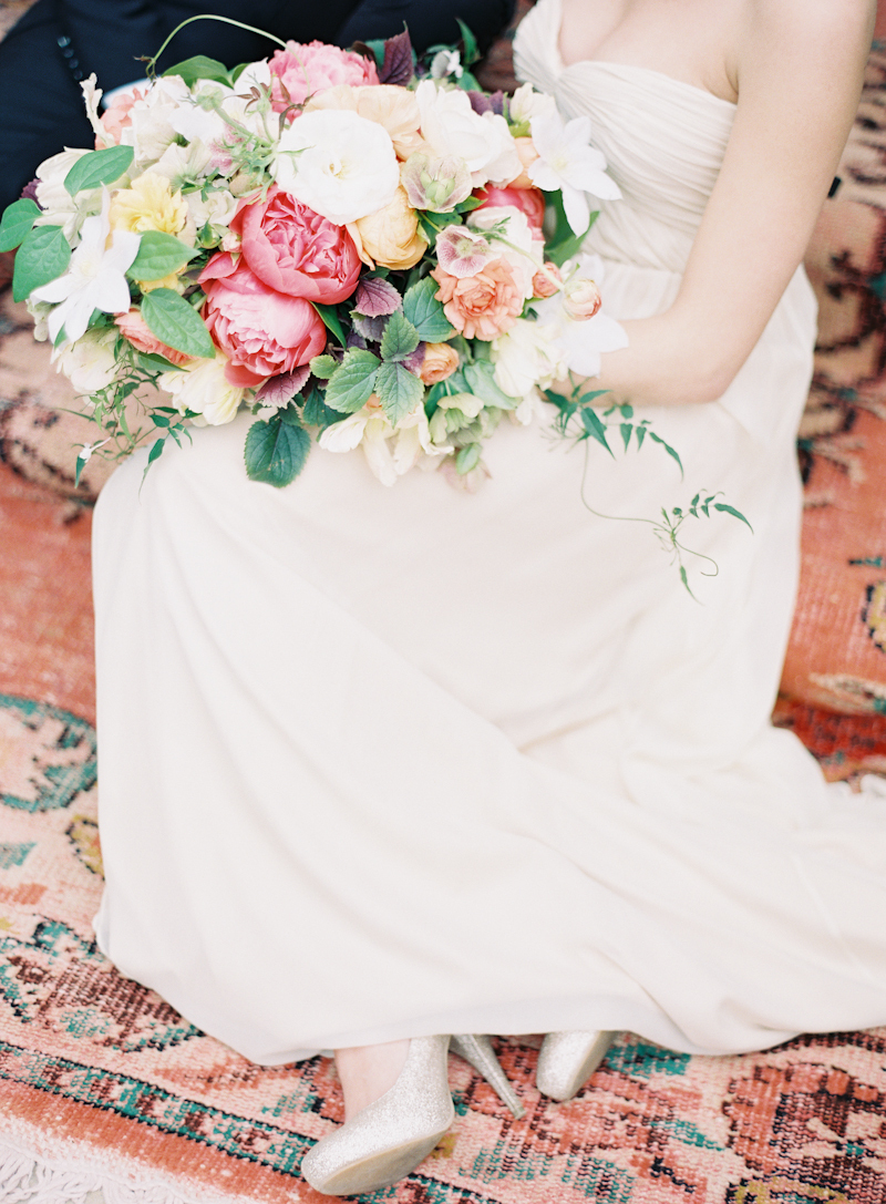 Bouquet, Colorful, Peonies, Aude gilles