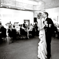 Flowers & Decor, Tables & Seating, Dancing, Family, Couple, Kissing, Tables, Audience, Sara mark