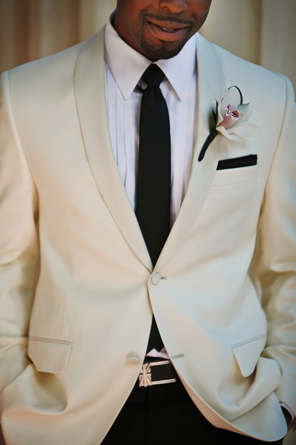 ivory, Groom, Jacket, Asha bryson