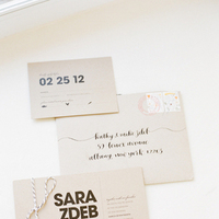 Calligraphy, Stationery, Modern, Invitations, Sara mark