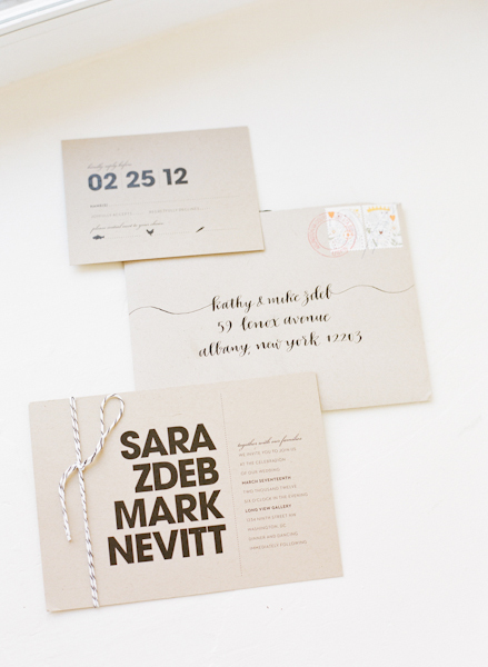 Calligraphy, Stationery, white, black, Modern, Invitations, And, Modern wedding invitation, Sara mark