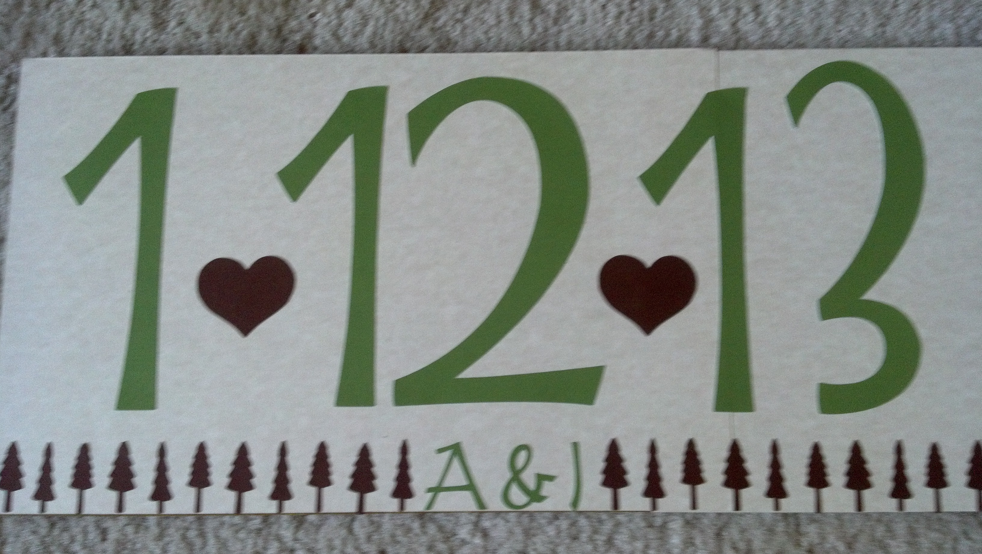 green, brown, Winter, The, Save, Date, Sign, Woodland