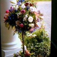 Ceremony, Flowers & Decor, pink, purple, Ceremony Flowers, Flowers, Italian, Topiary