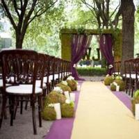 Ceremony, Flowers & Decor, green, Candles, Aisle, Moss