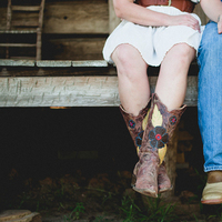 Shoes, Fashion, brown, Rustic, Wedding, Cowboy, Engagement, Country, Shoot, Western, Boots, rustic wedding dresses