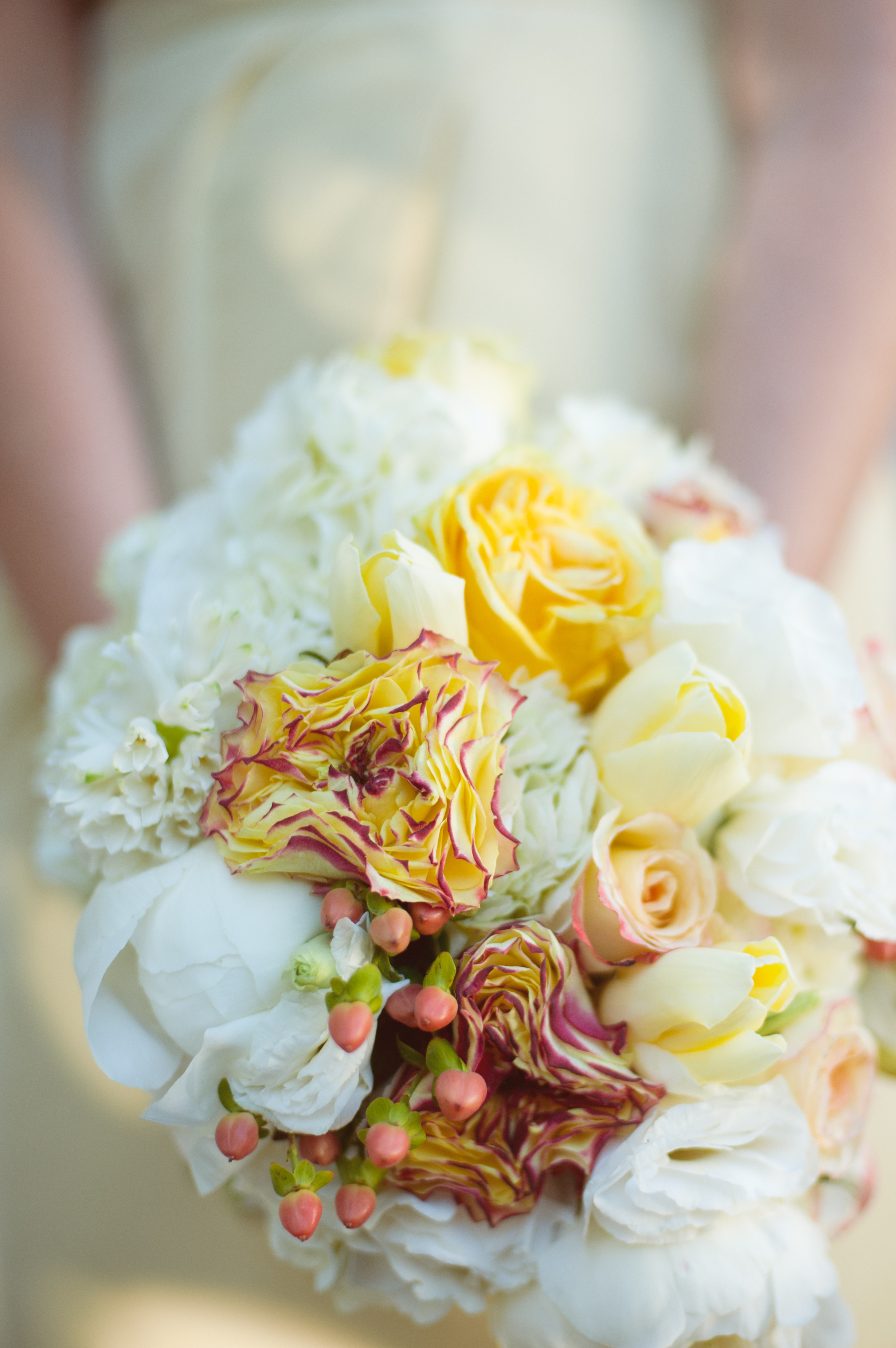 Flowers & Decor, white, yellow, Bride Bouquets, Flowers, Bouquet, Jen kevin