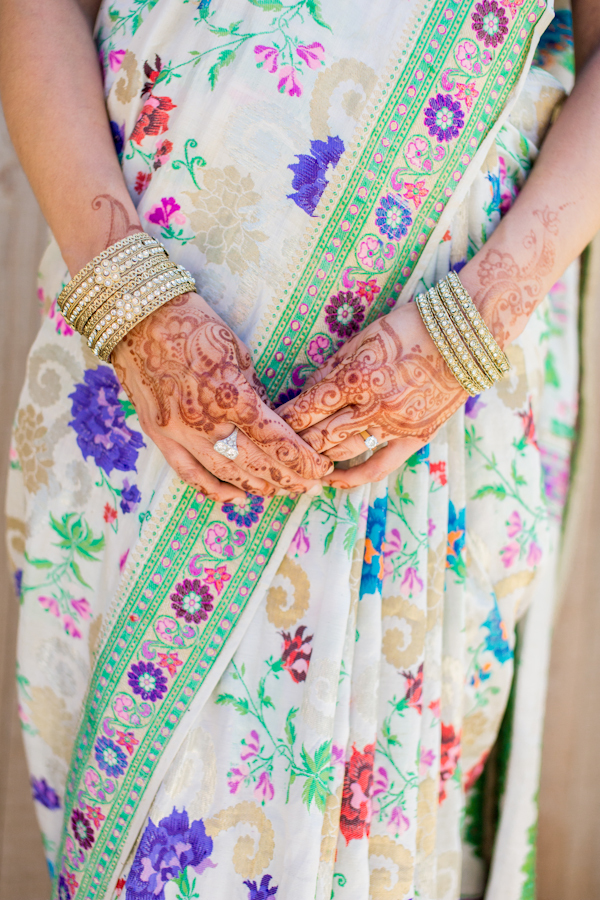 Bride, Henna, Saree, Tattoo, Bangles, Emily adam