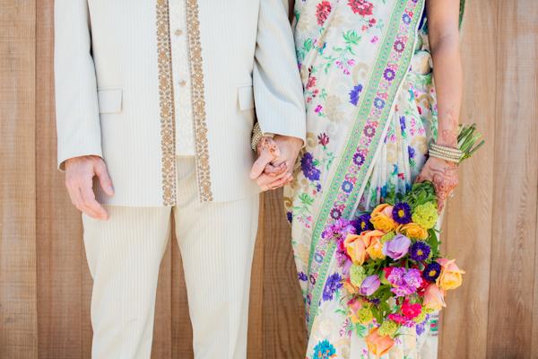 Flowers & Decor, Bride Bouquets, Bride, Flowers, Groom, Couple, Saree, Emily adam