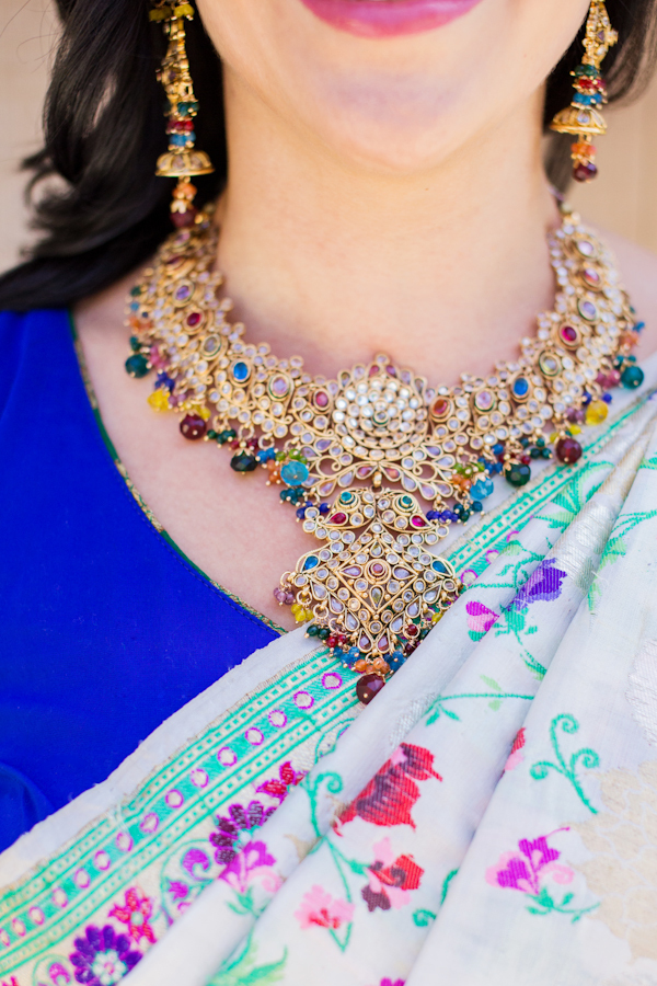 blue, gold, Necklace, Jewels, Emily adam, Heirlooms