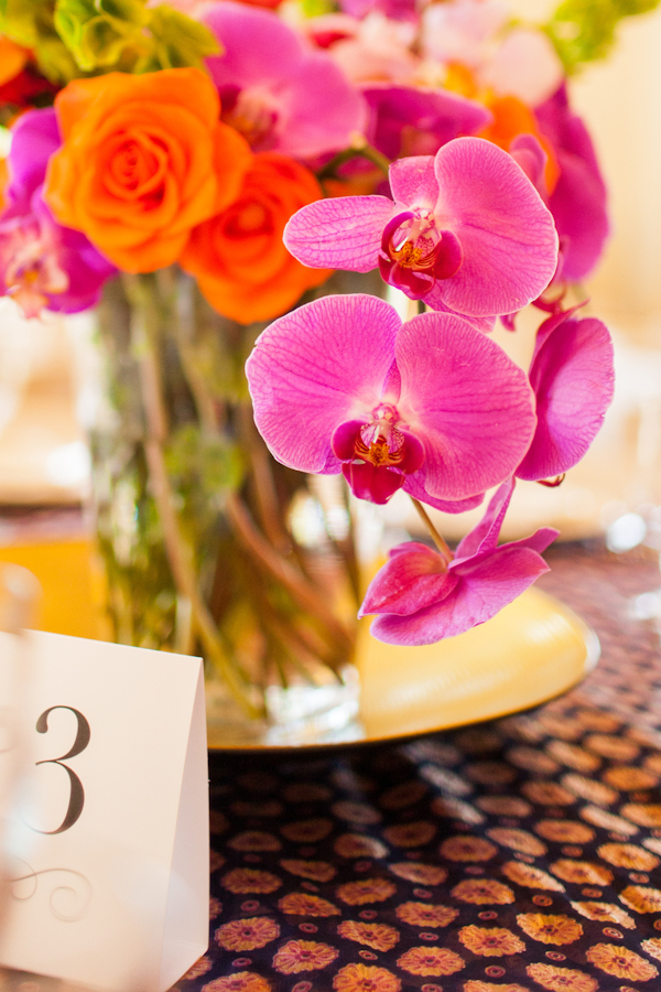Flowers & Decor, orange, pink, green, Flowers, Table, Number, Tabletop, Emily adam