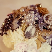 Ceremony, Reception, Flowers & Decor, Jewelry, Brooches, Ceremony Flowers, Flowers, Brooch, Bling, Bouqet