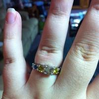 Jewelry, yellow, blue, brown, Engagement Rings, Ring, Engagement