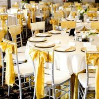 Ceremony, Reception, Flowers & Decor, white, silver, gold