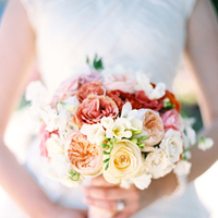 Flowers & Decor, yellow, pink, red, Bride Bouquets, Bride, Flowers, Bouquet, Katie ben