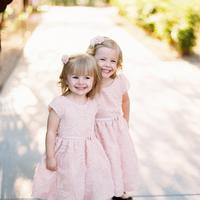 Flower Girls, pink, Cute, Smiles, Katie ben