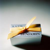 Favors & Gifts, orange, favor, Tie, Names, Katie ben