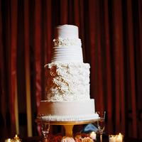 Flowers & Decor, Cakes, white, cake, Flowers, Tiers, Katie ben