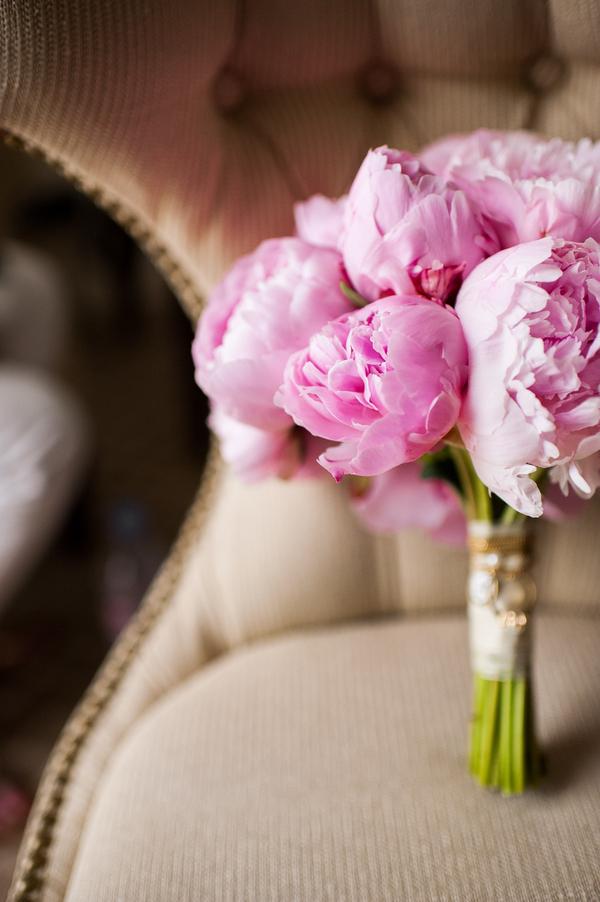 pink, Bouquet, Peonies, Elizabeth andrew