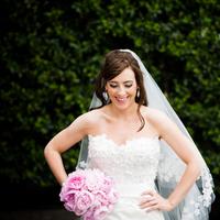 Veils, Fashion, pink, Bride, Bouquet, Veil, Elizabeth andrew