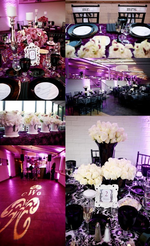 Reception, Flowers & Decor, purple, Ideas