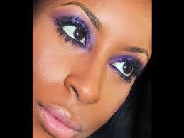 Beauty, purple, Makeup