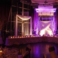 Reception, Flowers & Decor, purple, Lighting