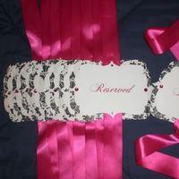 Ceremony, Flowers & Decor, white, pink, black