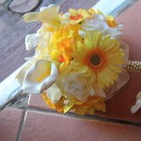 Flowers & Decor, white, yellow, Flowers