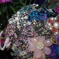 Flowers & Decor, Jewelry, purple, Brooches, Bride Bouquets, Flowers, Bouquet, Brooch