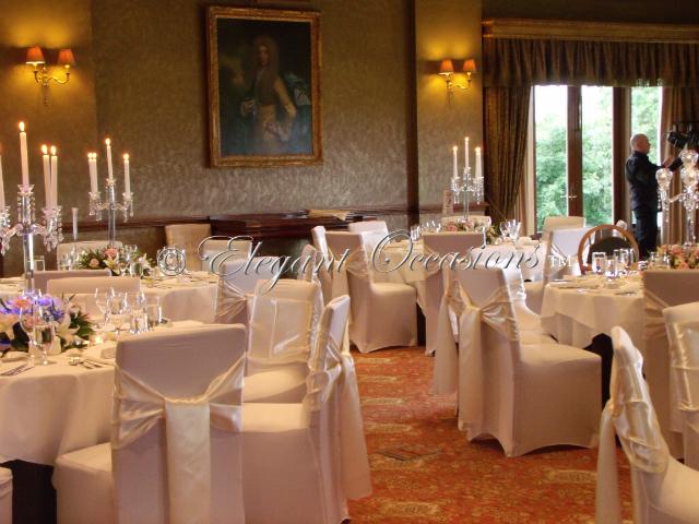 Reception, Flowers & Decor, white