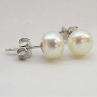 Jewelry, Earrings, Pearl, Stud