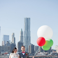 red, green, Bride, City, Groom, Grey, York, New, Balloons, Clara dave