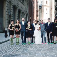 Bridesmaids, Bridesmaids Dresses, Fashion, green, black, Groomsmen, Party, Bridal, Socks, Clara dave
