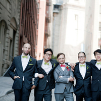 red, green, black, Groomsmen, Grey, Clara dave