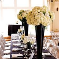 Reception, Flowers & Decor, black, Inspiration board