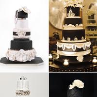 Cakes, black, cake