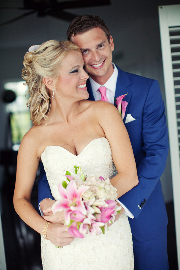 Destinations, pink, blue, Beach, Bride, Bouquet, Groom, Destination, Navy, Preppy, Kristin broen