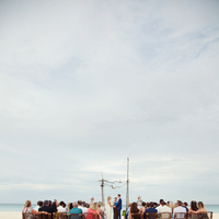 Ceremony, Flowers & Decor, Beach, Beach Wedding Flowers & Decor, Aisle, Sand, Kristin broen