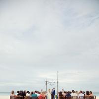 Ceremony, Flowers & Decor, Beach, Beach Wedding Flowers & Decor, Aisle, Sand, Kristin broen