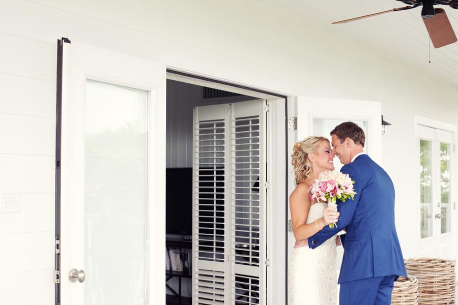 Bride, Groom, Kiss, Couple, Navy, Kristin broen
