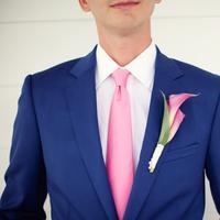 Fashion, Men, pink, blue, Men's Formal Wear, Tie, Boutonniere, Suit, Coat, Navy, Kristin broen