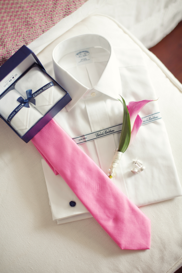 white, pink, Tie, Boutonniere, Shirt, Mens, Attire, Kristin broen