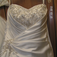 white, Gown, Bridal