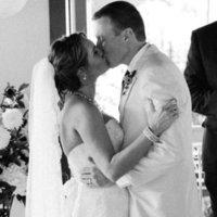 Ceremony, Flowers & Decor, Bride, Groom, Kiss, Robyn, Robyn ben