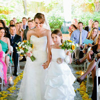 white, yellow, Bride, Daughter, Walk, Robyn, Robyn ben