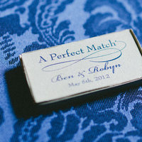 Favors & Gifts, favor, Matches, Robyn, Robyn ben