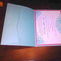 DIY, Reception, Flowers & Decor, Stationery, Paper, blue, green, invitation, Invitations, Tiffany, Inspiration board