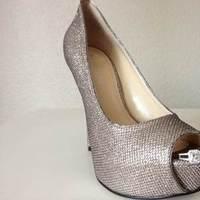 Shoes, Fashion, silver, Bridal, Shoe