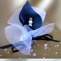 Favors & Gifts, white, blue, silver, Favors, Almond, Sugaret